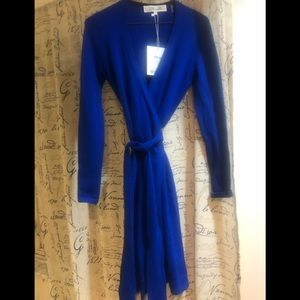 Diane von furstenberg knit dress size P